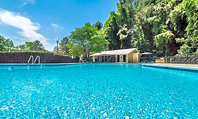 Pool, Laurel Ridge Apartments, 1