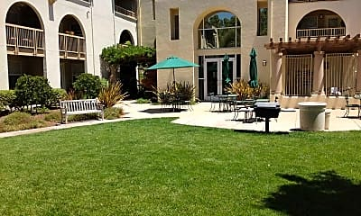 Courtyard, Village At Willow Glen Senior Community, 0