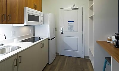 Kitchen, Uptown Suites- Concord, 1