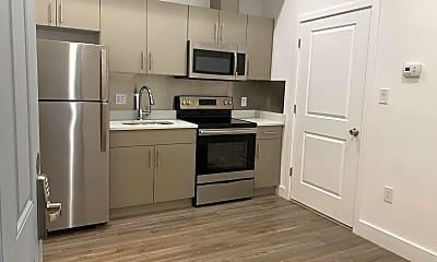 Kitchen, 1231 Vine St 3, 1