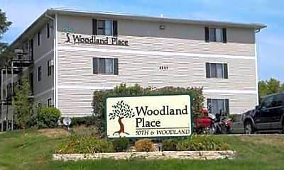 Building, Woodland Place Apartments, 0