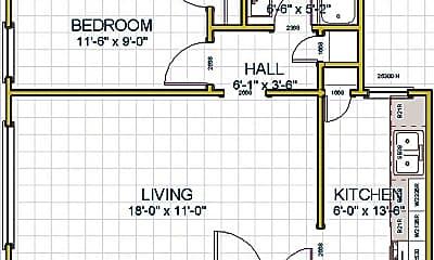 Bedroom, 6000 W 35th St, 2
