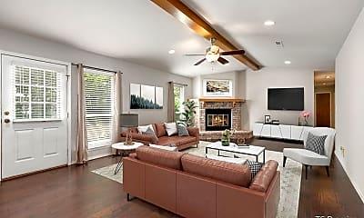 Living Room, 1437 E Eton St, 1