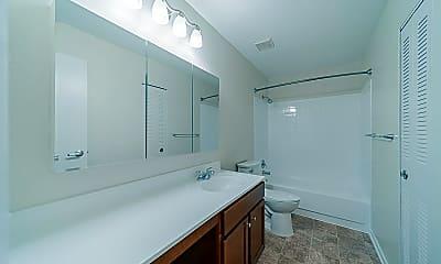 Bathroom, Georgetown Apartment Homes, 2