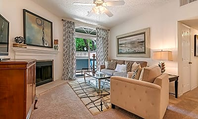 Living Room, Lakes of Chateau South, 1