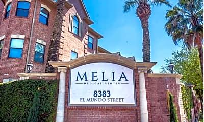 Community Signage, Melia Medical Center, 2