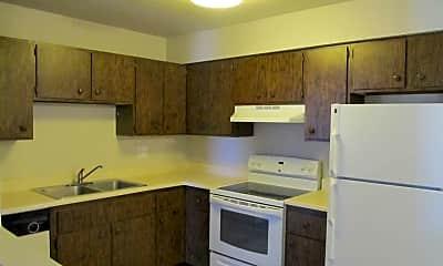 Kitchen, Ridge View Apartments, 1