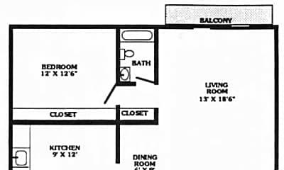 Denway Circle Apartments, 2