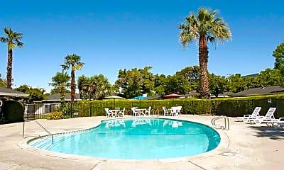 Pool, Garden East Apartments, 1