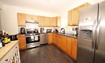 Kitchen, 91 Cushing St, 1