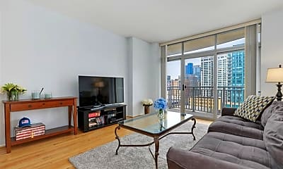 Living Room, 600 N Dearborn St 1903, 1
