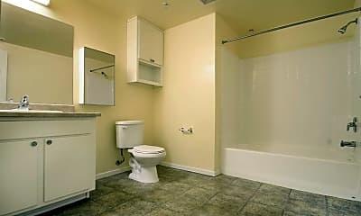 Bathroom, Poso Place Apartments, 2