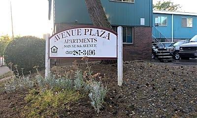 Avenue Plaza Apartments, 1