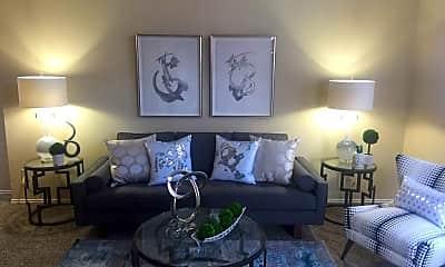Living Room, Windridge Townhomes, 2