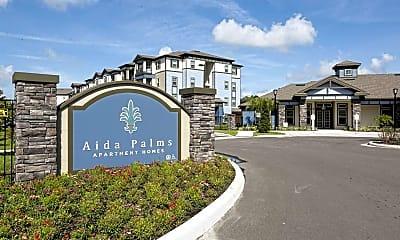 Community Signage, Aida Palms, 2