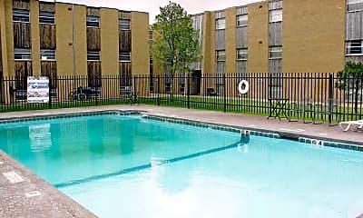 Pool, Park Lane Apartments, 1
