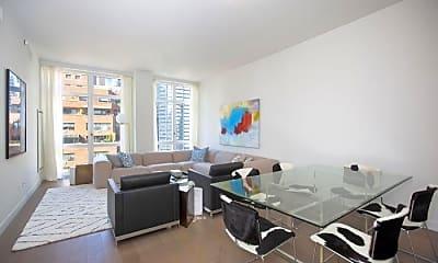 Living Room, 305 E 51st St, 1