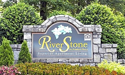 Community Signage, Riverstone at Powers Ferry, 2