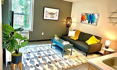 Living Room, 5104 Hollyridge Drive, 1