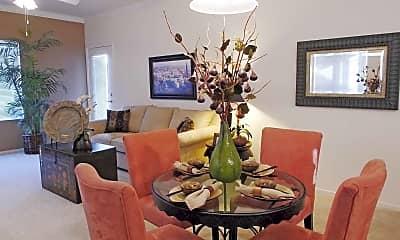 Dining Room, Rocklin Ranch Apartments, 1