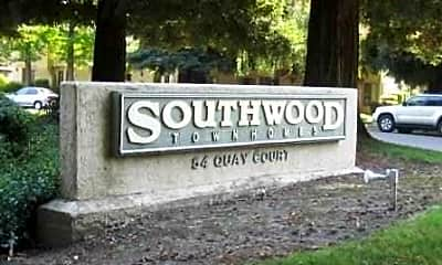 Community Signage, Southwood Townhomes, 1