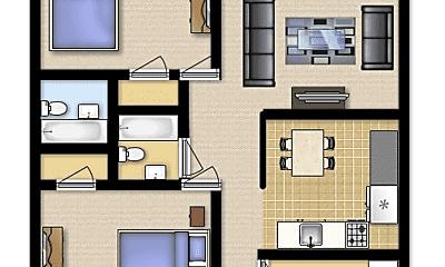 Building, 2860 Plaza Ct, 1