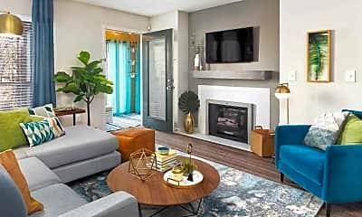 Living Room, Huntsview Apartments, 0