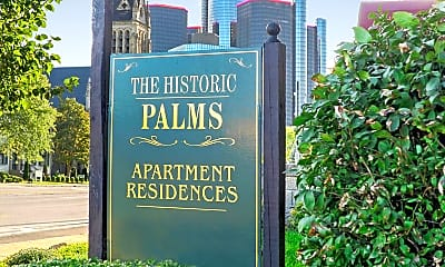Community Signage, The Palms Apartments, 2