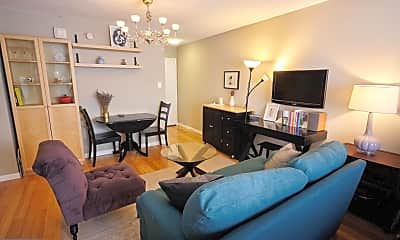 Living Room, 1816 New Hampshire Ave NW 302, 0