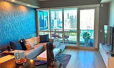 Living Room, 4575 Dean Martin Dr 1801, 1