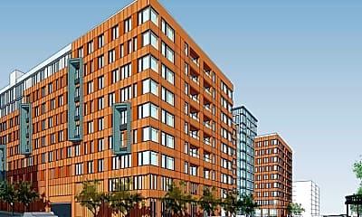 Rendering, Bronx River Road Apartments, 1