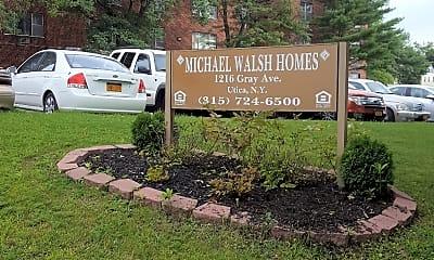 Michael Walsh Apartments, 1