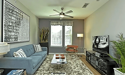 Living Room, 1900 Barton Springs Rd, 0