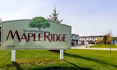 Community Signage, Maple Ridge Townhomes, 2
