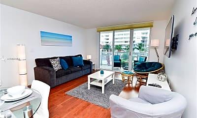 Living Room, 1155 Brickell Bay Dr 706, 2