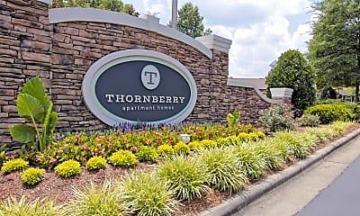 Community Signage, Thornberry, 2