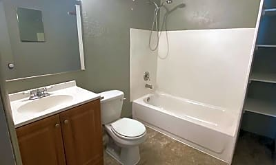 Bathroom, 121 W Young St, 2