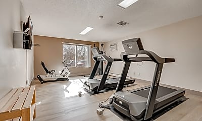 Fitness Weight Room, Eagle Pointe Apartments, 2