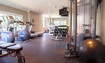 Fitness Weight Room, Arbors Of Brookdale, 2
