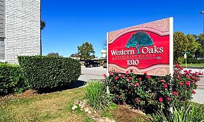 Community Signage, Western Oaks, 0