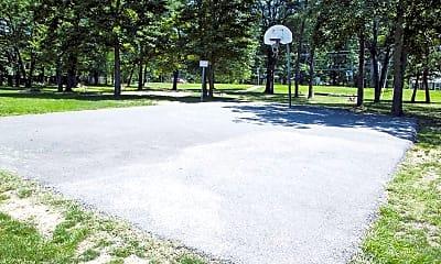 Basketball Court, Gateway Square, 2