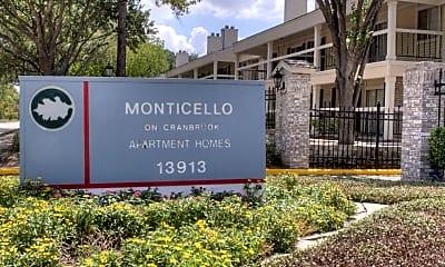 Monticello on Cranbrook, 2