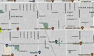 Building, 4627 W Armitage Ave, 2