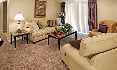 Living Room, Park Lane Villas, 1