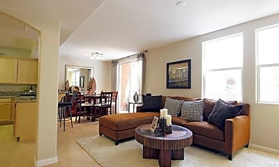 Living Room, Seaport Homes Luxury Condos & Townhouses, 1