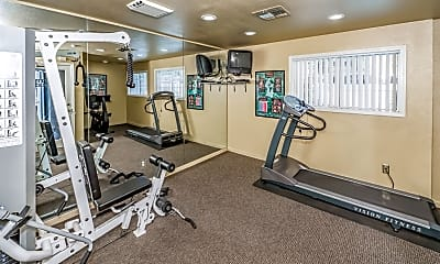 Fitness Weight Room, Woodlake Close, 2