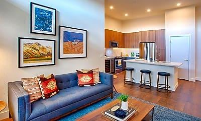 Living Room, 1122 S Grant St, 1