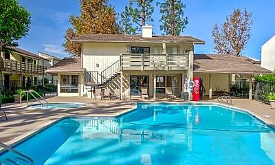 Pool, Pinewood Apartments, 1