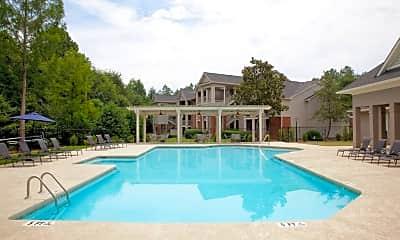 Pool, 1287 Shoals Apartments, 1