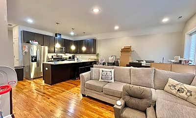 Living Room, 2933 S Wallace St 2F, 1